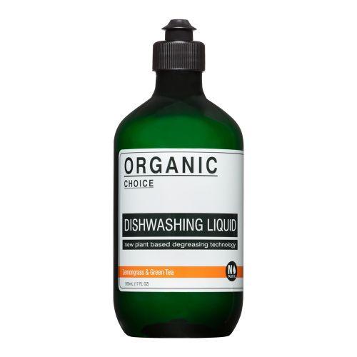 ディッシュウォッシングリキッド 500ml / レモングラス&グリーンティー (Organic choice オーガニックチョイス)