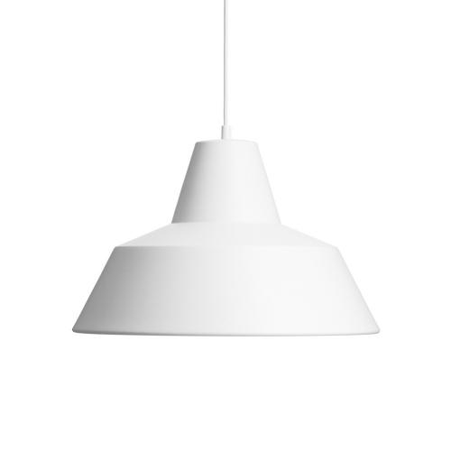 ワークショップランプM ホワイト  /  The work shop lamp (MADE BY HAND / メイドバイハンド)