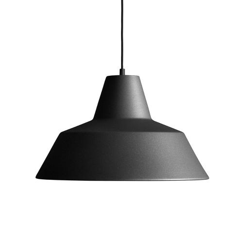 ワークショップランプM マットブラック /  The work shop lamp (MADE BY HAND / メイドバイハンド)