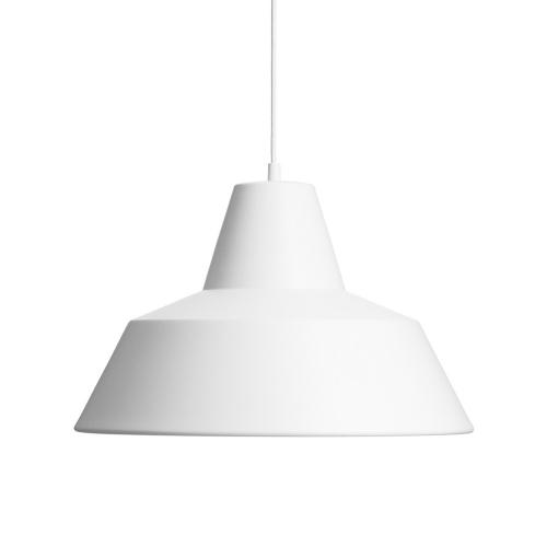 ワークショップランプL ホワイト  /  The work shop lamp (MADE BY HAND / メイドバイハンド)