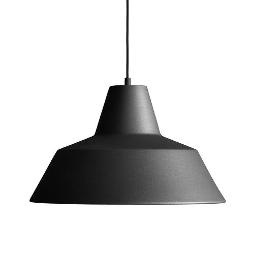 ワークショップランプL マットブラック /  The work shop lamp (MADE BY HAND / メイドバイハンド)
