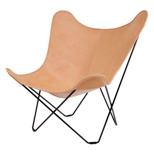 ビーケーエフ バタフライチェア マリポサ ナチュラル / BKF Chair (Cuero)