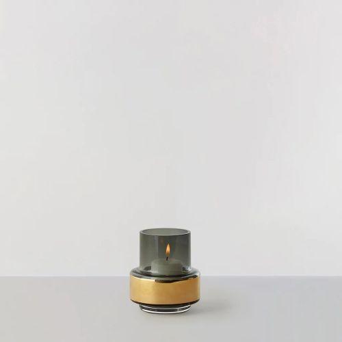 ハリケーンティーライト no.25 / スモークグレー×ゴールド (Ro collection / ロー・コレクション)