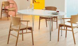 スーパー楕円テーブル / スーパー円テーブル / Super-Elliptical Table / Super-Circular Table