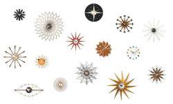 サンバーストクロック / Sunburst Clock