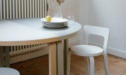 半円形テーブル / Dining Table Half Round