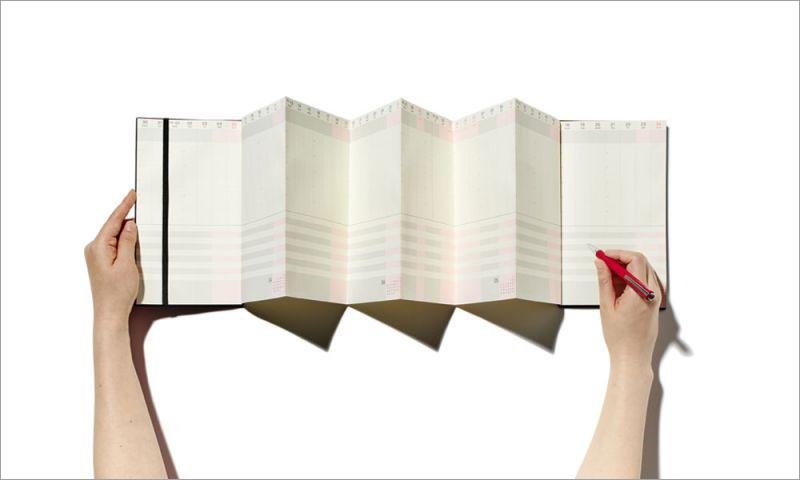 1年を俯瞰、設計するジャバラスケジュール帳